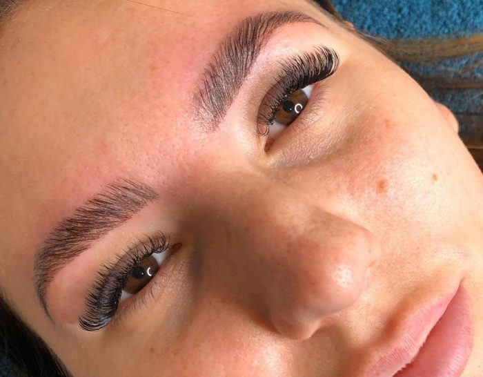 Eyebrow treatments at Glo & Blo Glam Bar, Hitchin