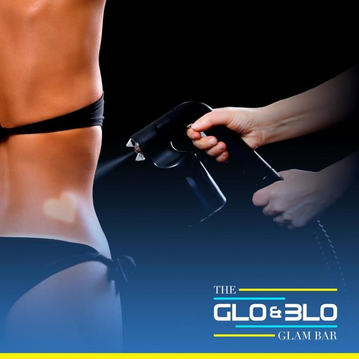 Norvell Spray Tans at Glo & Blo Glam Bar, Hitchin